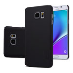 Чехол Nillkin Hard case для Samsung Galaxy Note 5 N920 (черный, пластиковый)