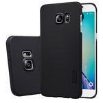 Чехол Nillkin Hard case для Samsung Galaxy S6 edge plus SM-G928 (черный, пластиковый)