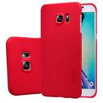 Чехол Nillkin Hard case для Samsung Galaxy S6 edge plus SM-G928 (красный, пластиковый)