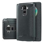 Чехол Nillkin Sparkle Leather Case для LG G4 Stylus H540F (темно-серый, винилискожа)