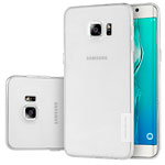 Чехол Nillkin Nature case для Samsung Galaxy S6 edge plus SM-G928 (прозрачный, гелевый)