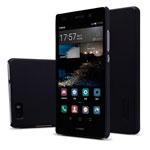 Чехол Nillkin Hard case для Huawei P8 lite (черный, пластиковый)