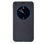 Чехол Nillkin Sparkle Leather Case для Samsung Galaxy S6 edge plus SM-G928 (темно-серый, винилискожа)