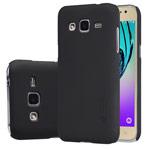 Чехол Nillkin Hard case для Samsung Galaxy J2 SM-J200 (черный, пластиковый)
