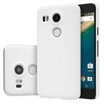 Чехол Nillkin Hard case для LG Nexus 5X (белый, пластиковый)