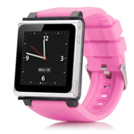 Браслет iWatchz Q Series для Apple iPod nano (6th gen) (розовый)