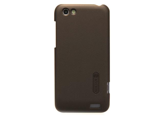 Чехол Nillkin Hard case для HTC One V T320e (коричневый, пластиковый)