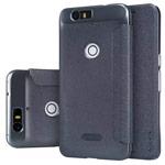 Чехол Nillkin Sparkle Leather Case для Huawei Nexus 6P (темно-серый, винилискожа)