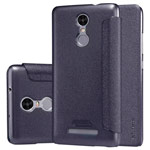 Чехол Nillkin Sparkle Leather Case для Xiaomi Redmi Note 3 (темно-серый, винилискожа)
