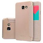 Чехол Nillkin Sparkle Leather Case для Samsung Galaxy A7 A710F (золотистый, винилискожа)