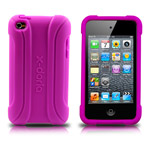 Чехол X-doria Silicone case для Apple iPod touch (4-th gen) (фиолетовый)