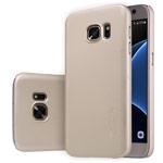 Чехол Nillkin Hard case для Samsung Galaxy S7 (золотистый, пластиковый)