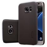 Чехол Nillkin Hard case для Samsung Galaxy S7 (темно-коричневый, пластиковый)