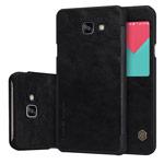 Чехол Nillkin Qin leather case для Samsung Galaxy A9 A9000 (черный, кожаный)