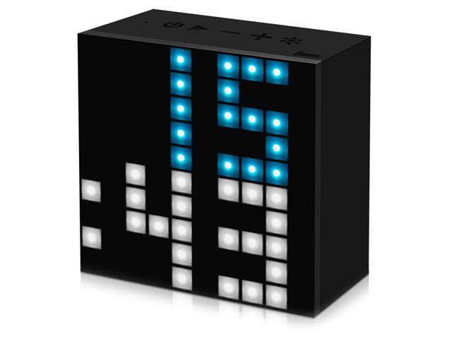 Портативная смарт-колонка Divoom Aurabox (черная, дисплей, беспроводная)