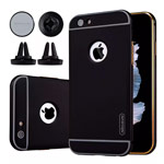 Чехол Nillkin Car Holder Protect case для Apple iPhone 6S (черный, автодержатель, маталлический)