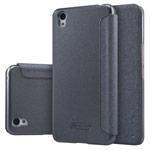 Чехол Nillkin Sparkle Leather Case для OnePlus X (темно-серый, винилискожа)