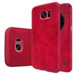 Чехол Nillkin Qin leather case для Samsung Galaxy S7 edge (красный, кожаный)
