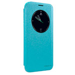Чехол Nillkin Sparkle Leather Case для Samsung Galaxy S7 edge (голубой, винилискожа)
