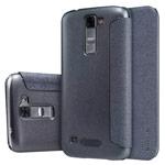 Чехол Nillkin Sparkle Leather Case для LG K7 (темно-серый, винилискожа)