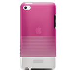 Чехол iLuv Tinted PC Case для Apple iPod touch (4th gen) (розовый)