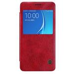 Чехол Nillkin Qin leather case для Samsung Galaxy J5 2016 J510 (красный, кожаный)