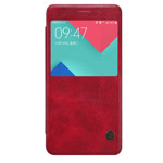 Чехол Nillkin Qin leather case для Samsung Galaxy A7 A710F (красный, кожаный)