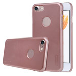 Чехол Nillkin Hard case для Apple iPhone 7 (розово-золотистый, пластиковый)