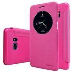 Чехол Nillkin Sparkle Leather Case для Samsung Galaxy Note 7 (розовый, винилискожа)