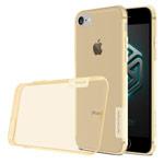 Чехол Nillkin Nature case для Apple iPhone 7 (золотистый, гелевый)