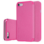 Чехол Nillkin Sparkle Leather Case для Apple iPhone 7 (розовый, винилискожа)