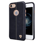 Чехол Nillkin Englon Leather Cover для Apple iPhone 7 (черный, кожаный)