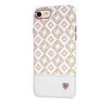 Чехол Nillkin Oger Cover для Apple iPhone 7 (белый, кожаный)