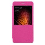 Чехол Nillkin Sparkle Leather Case для Xiaomi Redmi Note 4 (розовый, винилискожа)