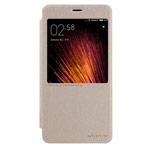 Чехол Nillkin Sparkle Leather Case для Xiaomi Redmi Note 4 (золотистый, винилискожа)