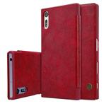 Чехол Nillkin Qin leather case для Sony Xperia XZ (красный, кожаный)