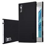 Чехол Nillkin Hard case для Sony Xperia XZ (черный, пластиковый)