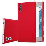 Чехол Nillkin Hard case для Sony Xperia XZ (красный, пластиковый)