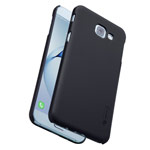 Чехол Nillkin Hard case для Samsung Galaxy A8 2016 (черный, пластиковый)