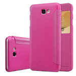 Чехол Nillkin Sparkle Leather Case для Samsung Galaxy J5 Prime (розовый, винилискожа)