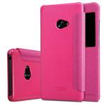 Чехол Nillkin Sparkle Leather Case для Xiaomi Mi Note 2 (розовый, винилискожа)