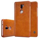 Чехол Nillkin Qin leather case для Xiaomi Mi 5s plus (коричневый, кожаный)