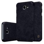 Чехол Nillkin Qin leather case для Samsung Galaxy A8 2016 (черный, кожаный)
