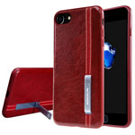 Чехол Nillkin Phenom Case для Apple iPhone 7 (красный, кожаный)