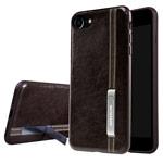 Чехол Nillkin Phenom Case для Apple iPhone 7 (темно-коричневый, кожаный)