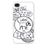 Чехол The LostDog by BlueTrek Slim hardcase для Apple iPhone 5 (черный, Art Saves Life)