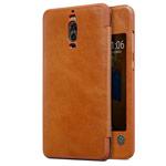 Чехол Nillkin Qin leather case для Huawei Mate 9 pro (коричневый, кожаный)