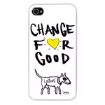 Чехол The LostDog by BlueTrek Slim hardcase для Apple iPhone 5 (белый, Chance For Good)
