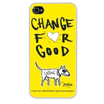 Чехол The LostDog by BlueTrek Slim hardcase для Apple iPhone 5 (желтый, Chance For Good)