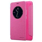 Чехол Nillkin Sparkle Leather Case для Meizu M5 Note (розовый, винилискожа)